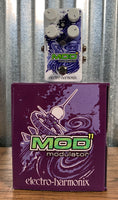 Electro-Harmonix EHX Mod 11 Modulator Tremolo Flanger Chorus Rotory Phaser Pitch Guitar Effect Pedal