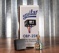 Aguilar OBP-2SK Stacked 2 Band Boost Cut 9 or 18 Volt Onboard Bass Preamp