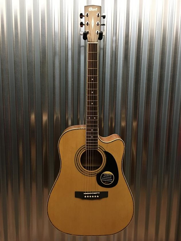 Cort AD880CE Cutaway Acoustic Electric Guitar #0344 *