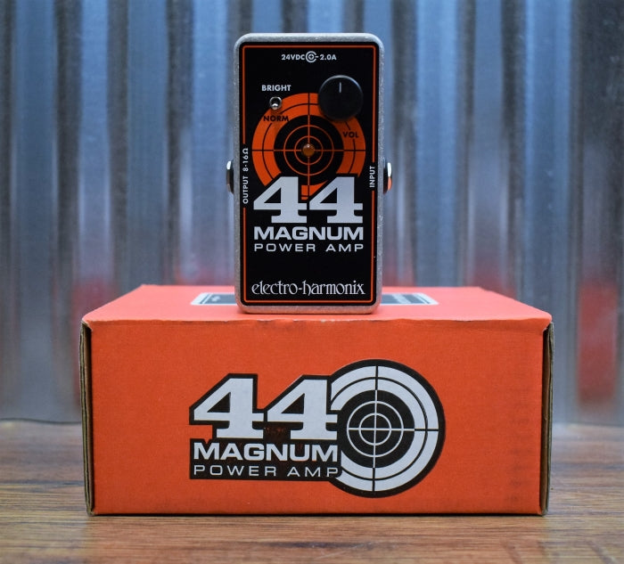 Electro-Harmonix EHX 44 Magnum Power Amp Guitar Effect Pedal Amplifier