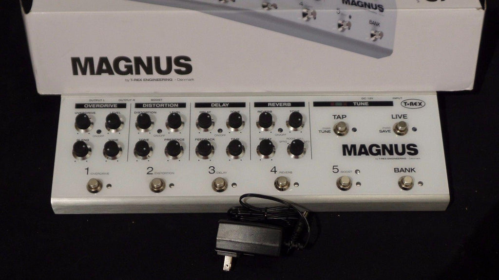 T-Rex Magnus Electric Guitar Multi Effects FX Board TRex #3