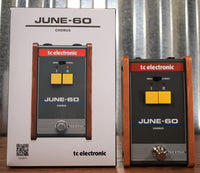 TC Electronic June-60 Stereo Chorus Guitar Bass Effect Pedal