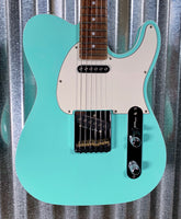 G&L USA Fullerton Custom ASAT Classic Surf Green Guitar & Case #2108