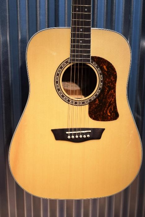 Washburn Heritage HD20S Sold Spruce Top Dreadnought Acoustic Guitar #0795