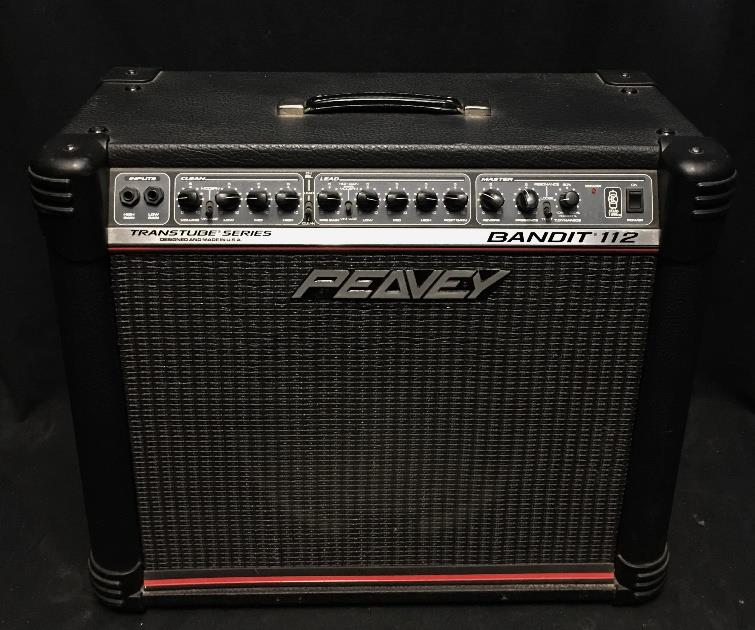 Peavey Bandit 112 Transtube Series Combo Amplifier for Electric Guitar *
