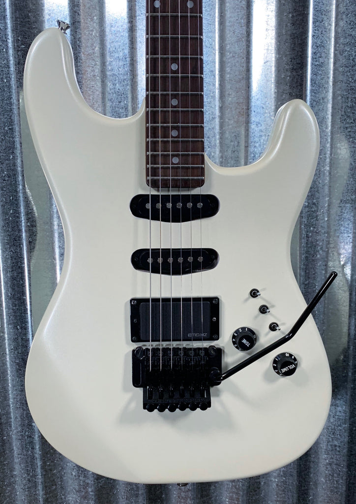 BC Rich NJ Series ST-III SSH Pearl White Guitar & Gig Bag Japan 1987- 88 #2512 Used