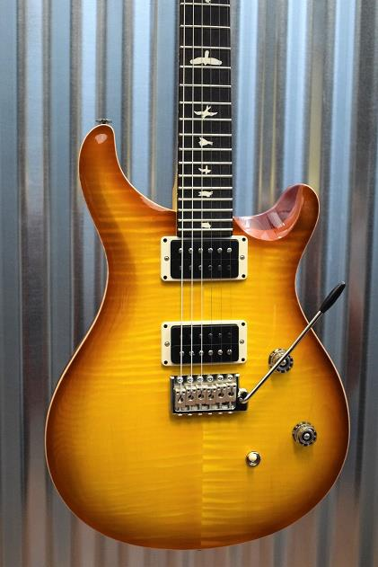 PRS Paul Reed Smith CE 24 Carved Flame Top Vintage Sunburst Guitar & Bag #5895