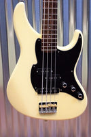 Fret King Perception Vintage White 4 String Bass & Gig Bag FKV4VW #1169