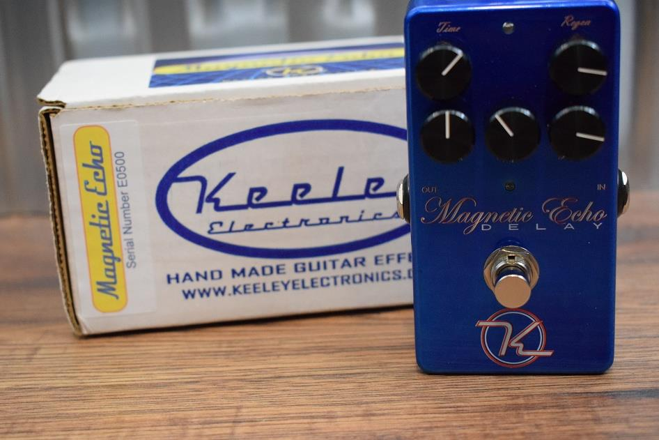 Keeley Magnetic Echo Delay Effects FX Pedal for Electric Guitar *