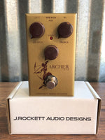 J. Rockett Audio Designs Archer Ikon Boost Overdrive Guitar Effect Pedal