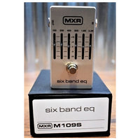 Dunlop MXR M109S Six Band Graphic Eq Equalizer M-109 Guitar Effect Pedal 6 Band