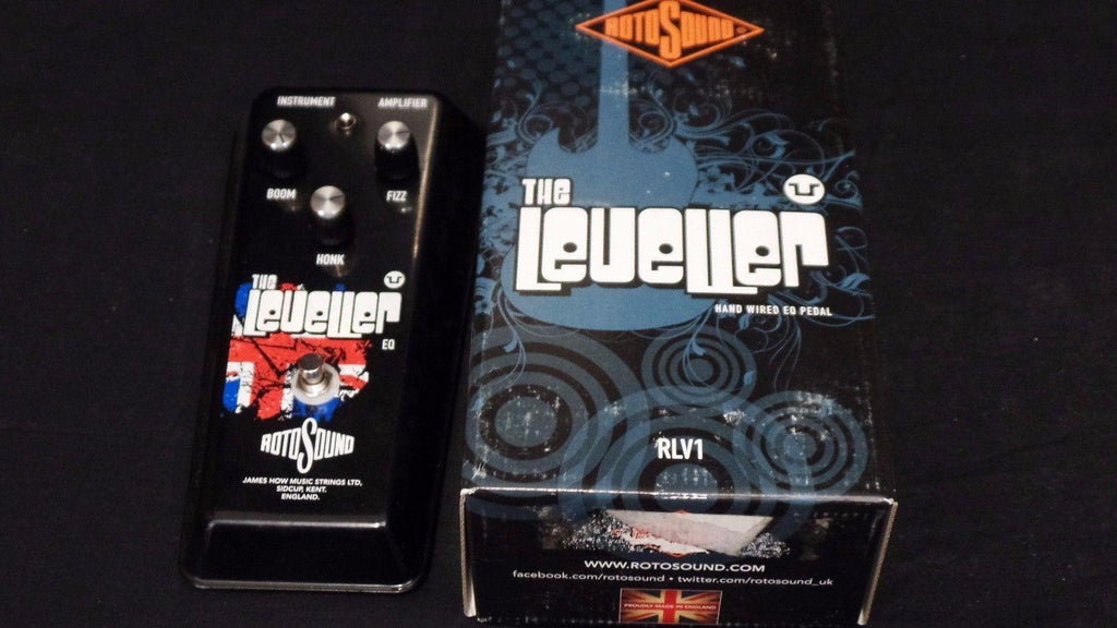 Rotosound The Leveler EQ Hand Built Vintage Style Effect Pedal
