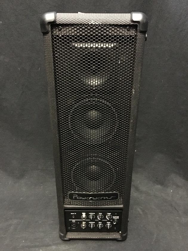 Powerwerks PW40BATBT 40 Watt Personal PA System with Bluetooth #3000 *