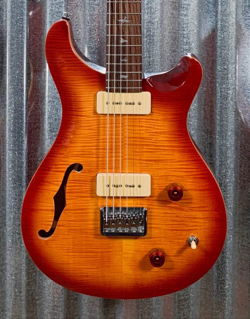 PRS Paul Reed Smith SE 277 Baritone Semi-Hollow Vintage Sunburst Guitar & Bag 277SH #1863