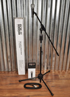 Behringer SL85S Dynamic Cardioid Microphone & Gator Tripod Boom Stand & XLR Cable Bundle