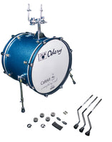 Odery Drums CafeKit Expansion 20 x 16 Kick Drum IRCAFE-EXP-BS Blue Sparkle