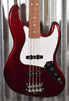 G&L USA Fullerton Standard JB Jazz Bass Ruby Red Metallic & Bag #1272