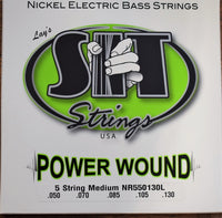 SIT Strings Power Wound 5 String Medium Nickel Bass NR550130L