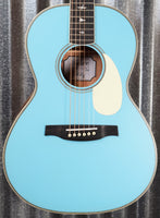 PRS Paul Reed Smith SE P20E LTD ED Acoustic Electric Parlor Powder Blue Guitar & Bag #4328