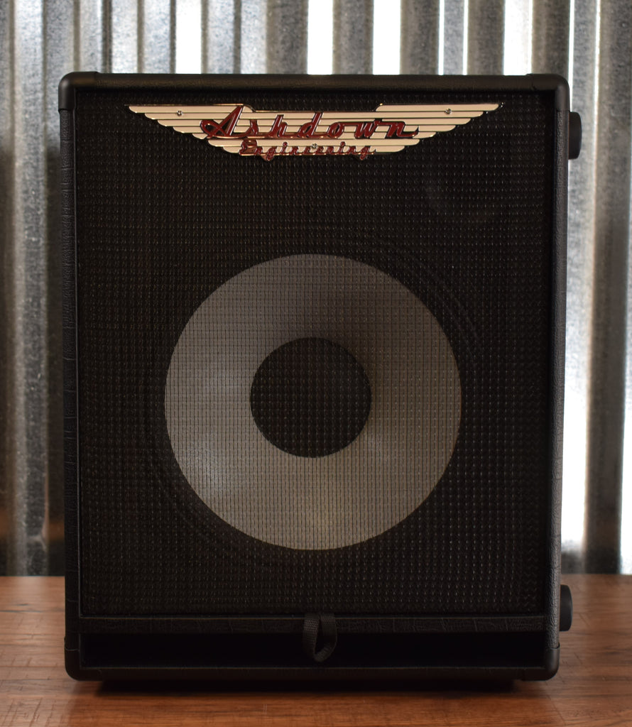 "Ashdown Engineering Rootmaster RM112T-EVO II 300 Watt 1x12"" Super Lightweight Bass Amp Speaker Cabinet Demo"