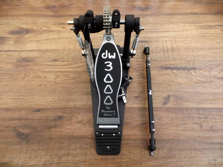 DW Drum Workshop DWCP3002 3000 Series Double Bass Kick Drum Pedal  Incomplete