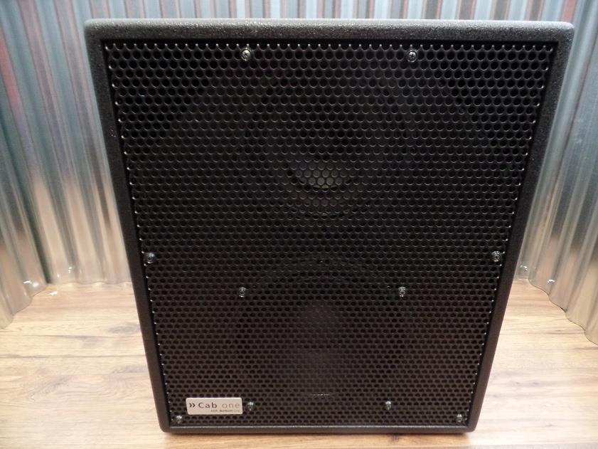 AER Cab One Two Way Full Range 300 Watt  2x10 Bass Speaker Cabinet & Cover #0048