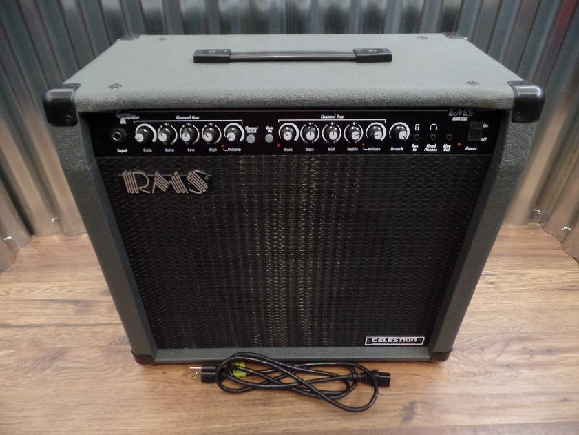 "RMS RMSG80 80 Watt Combo Amplifier for Electric Guitar with 12"" Speaker #5005 *"
