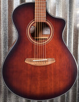 Breedlove Wildwood Concert Satin CE Whiskey Burst Mahogany Acoustic Electric Guitar B Stock #1624