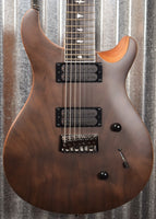 PRS Paul Reed Smith SE Mark Holcomb SVN 7 String Satin Walnut Guitar & Bag #0180