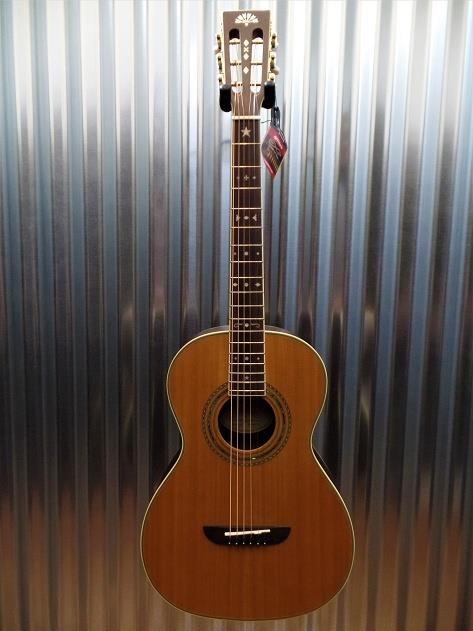 Washburn WP26SENS Parlor Acoustic Electric Guitar #1782