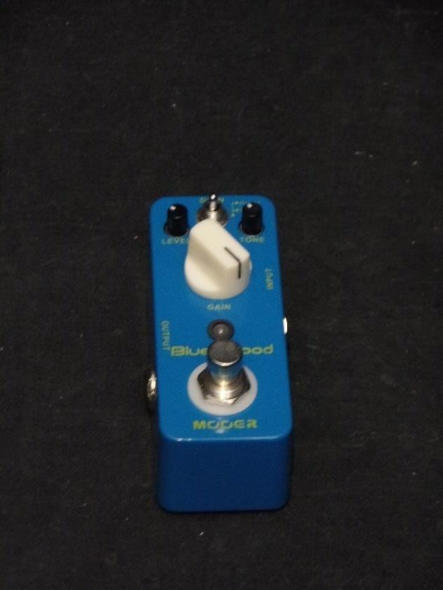 Mooer Audio Blues Mood Overdrive Effects Pedal For Electric Guitar*