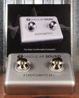 Singular Sound Dual Footswitch + for Beat Buddy Drum Machines
