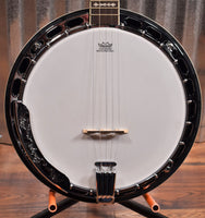 Ortega Guitars Falcon OBJ750-MA Flame Maple 5 String Banjo & Bag #0021 B Stock