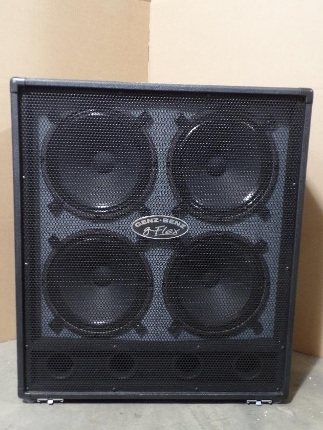 Genz Benz GB 412 G Flex 4x12 Speaker Cabinet 412GFLEX #6038*