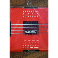 Warwick Red Label 4 String Light Stainless Steel Bass Strings 42230 .035-.095