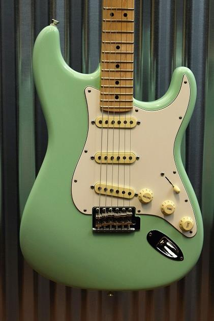 Fender American Special Stratocaster Surf Green Maple Neck Guitar & Case