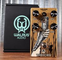Walrus Audio Warhorn Mid Range Overdrive Guitar Effect Pedal