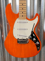 G&L Guitars USA Fullerton Deluxe Skyhawk Clear Orange Guitar & Case 2019 #5115