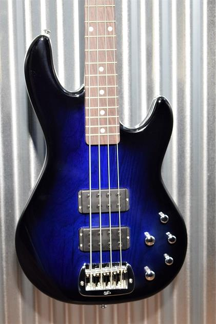 G&L Tribute M-2000 4 String Bass Blueburst 3 Band Active EQ - M2000  #8572