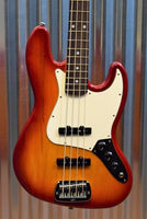 G&L Guitars USA JB 4 String Jazz Bass JB Cherryburst & Case 2016 #8274