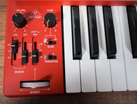 Behringer MS-1-RD 32 Key Analog Synthesizer Red