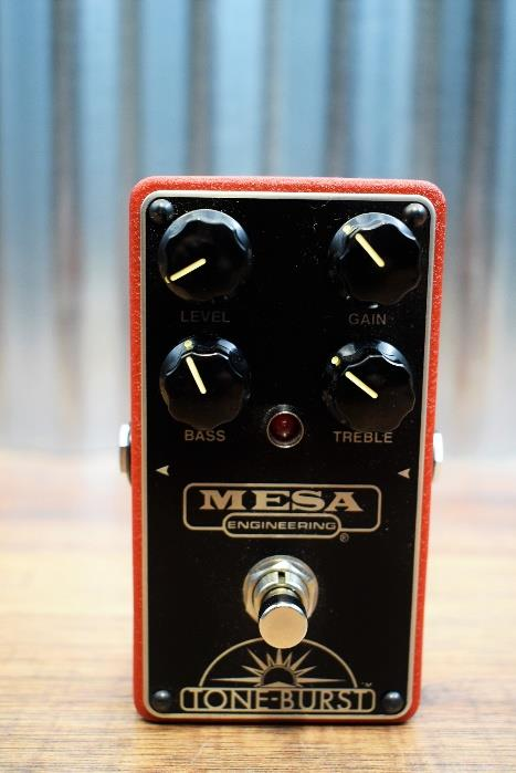 Mesa Boogie Tone Burst Clean Boost & Overdrive Guitar Effect Pedal