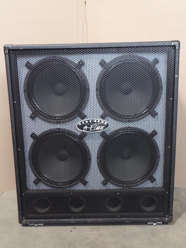 Genz Benz GB 412 G Flex 4x12 Speaker Cabinet 412GFLEX #6517
