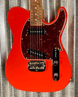 G&L USA Fullerton Deluxe ASAT Special Red Guitar & Case 2018 #9214