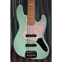 G&L Guitars USA JB5 5 String Jazz Bass JB Seafoam Green & Case JB-5 2018 #0228