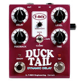 T-Rex Engineering Duck Tail Dynamic Delay Electric Guitar Effect Pedal Demo #657
