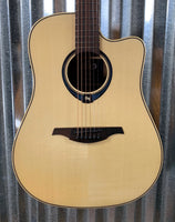 LAG Tramontane THV-20DCE Dread Cut HyVibe Smart Acoustic Guitar & Case Demo #5214