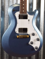PRS Paul Reed Smith USA S2 Singlecut Standard 22 Frost Blue Metallic Guitar & Bag #1592