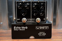 VHT Amplification AV-EV1 EchoVerb  Reverb & Delay Dual Guitar Effect Pedal