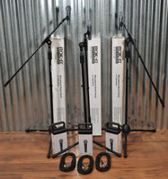 Behringer BA85A Dynamic Super Cardioid Microphone & Gator Tripod Boom Stand & XLR Cable 3 Pack
